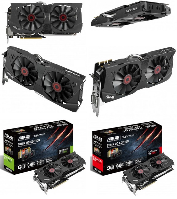 ASUS Strix video cards