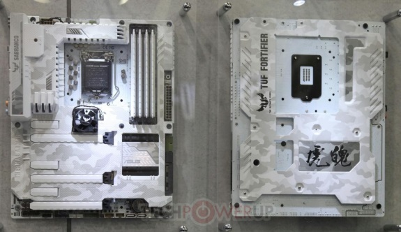ASUS new white TUF motherboards