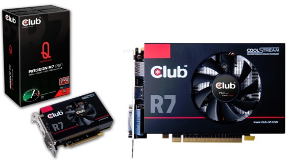 Club3D Radeon R7 260 RoyalQueen