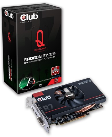 Club3D R7 265 RoyalQueen