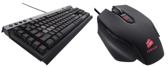 Corsair Raptor K40 and Raptor M45