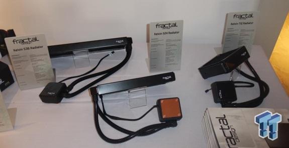 Fractal Design Kelvin coolers