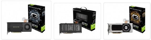 Gainward GeForce GTX 980 and GTX 970