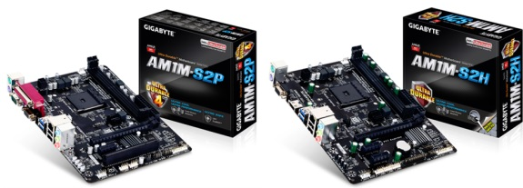 Gigabyte new AM1 series