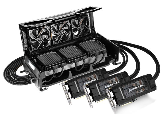 Gigabyte GeForce GTX 980 WaterForce Tri-SLI