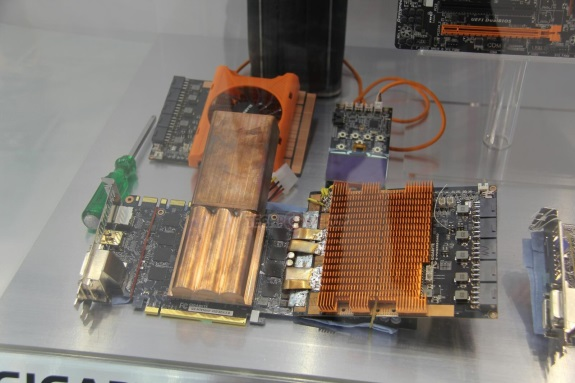 Gigabyte SuperOverclock VRM Boards for video cards