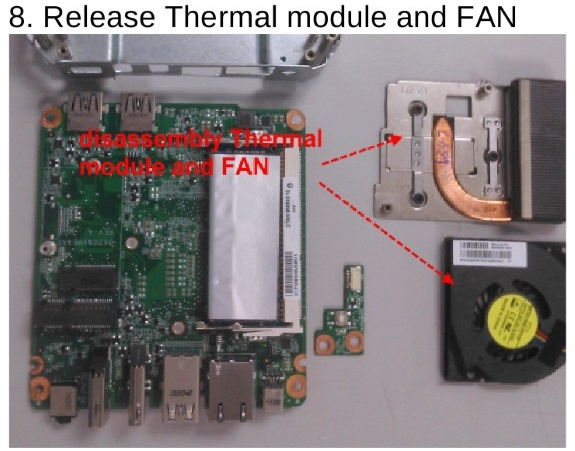 The fan in the fanless Chromebox from HP