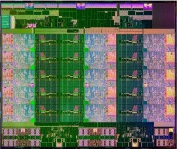 Intel 15-core die