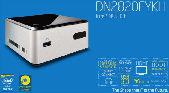 Intel Bay Trail NUC