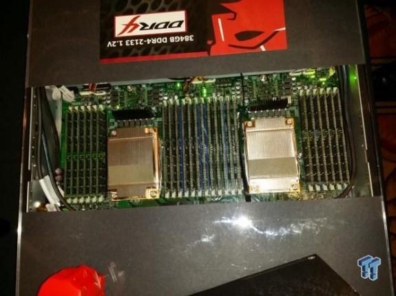 Kington 384GB DDR4 at CES