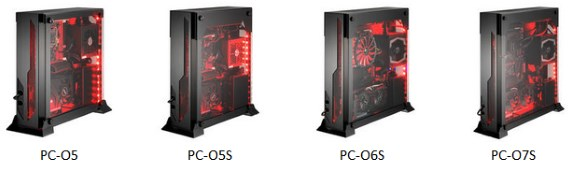 Lian Li O series wallmountable cases