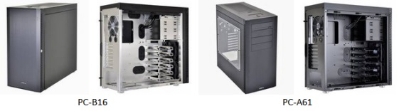 Lian Li PC-B16 and PC-A61
