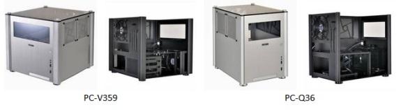 Lian Li PC-V359 and PC-Q36