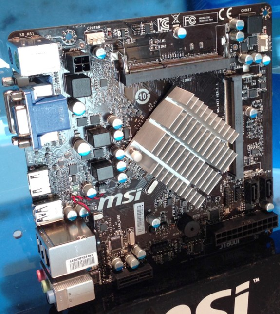 MSI cheap Bay Trail D mobo