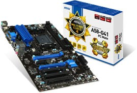 MSI FM2+ A58 chipset based motherboards
