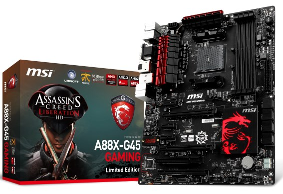 MSI FM2+ motherboards