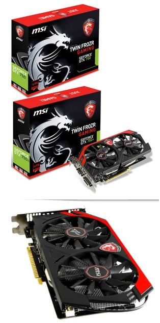 MSI GeForce GTX 750 GAMING