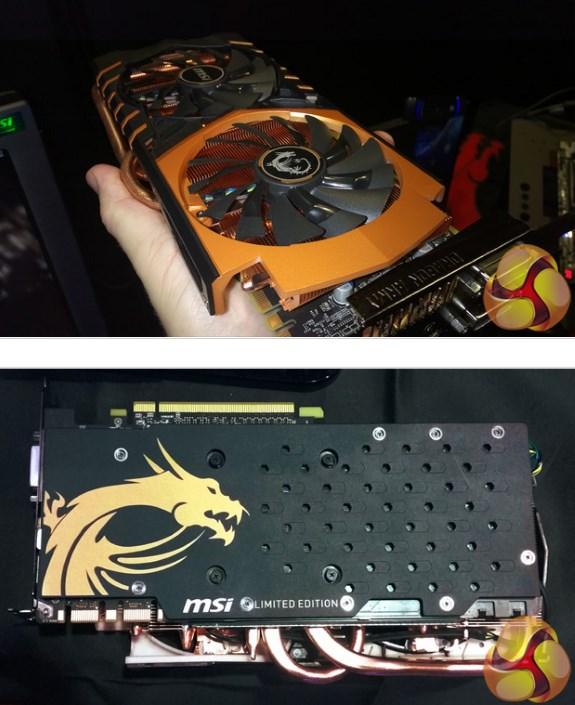 MSI demos GeForce GTX 970 Gold Edition