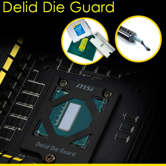 MSI OC Delid Die Guard