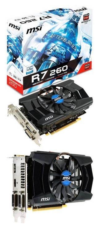 MSI Radeon R7 260 OC