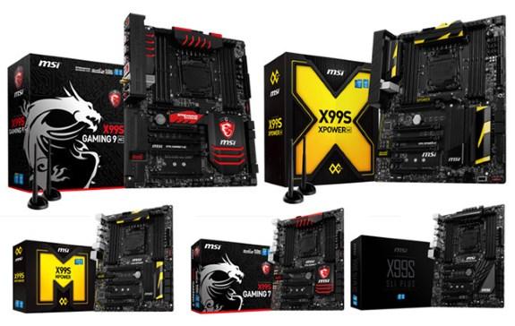MSI X99 series