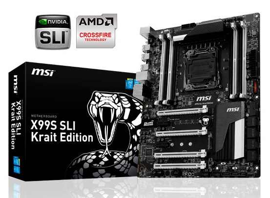 MSI X99S SLI Krait Edition motherboard