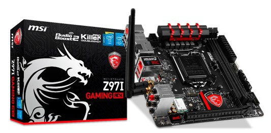 MSI Z97I GAMING ACK motherboard