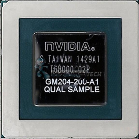 NVIDIA GM204 die
