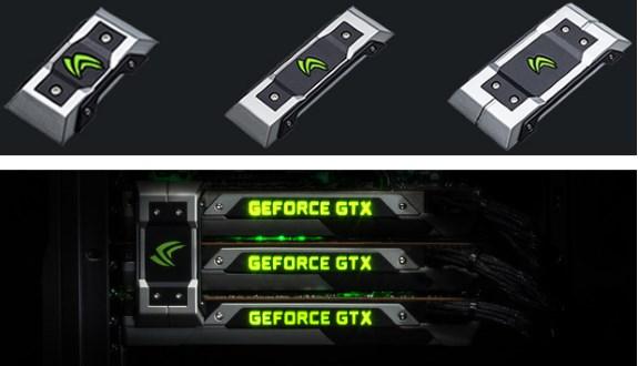 NVIDIA SLI LED bridge