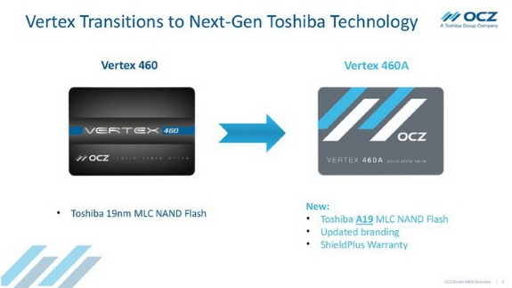 OCZ Vertex 460A SSD
