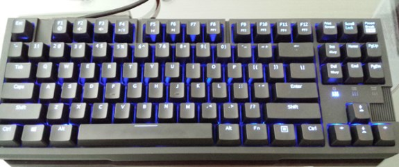 Rosewill mechanical keyboard with Chinese switches