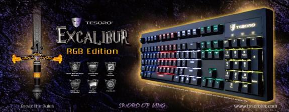 Tesoro Excalibur RGB