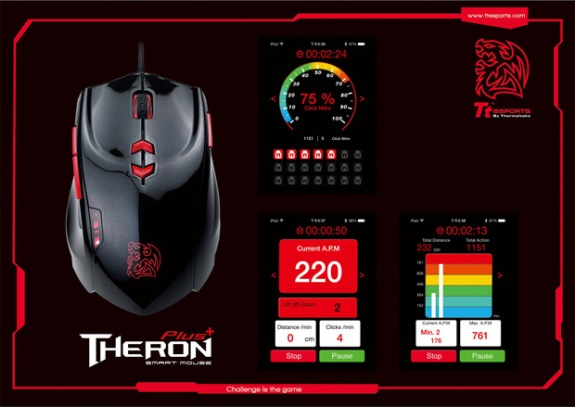 Tt eSports Theron Plus smart mouse
