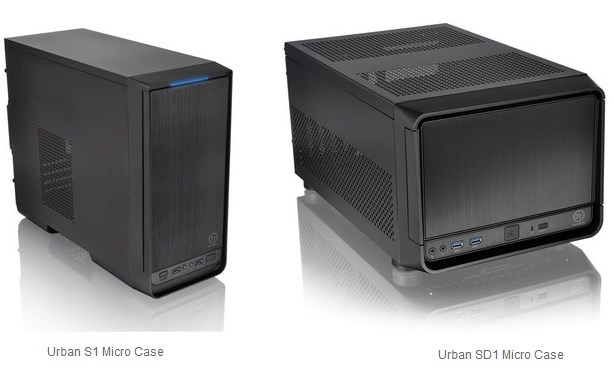 ThermalTake Urban S1 and SD1