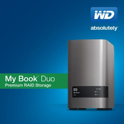 WD My Book Duo