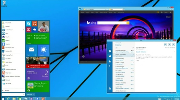 Windows 8 Start Menu returns