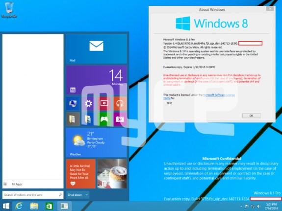 Windows Treshold