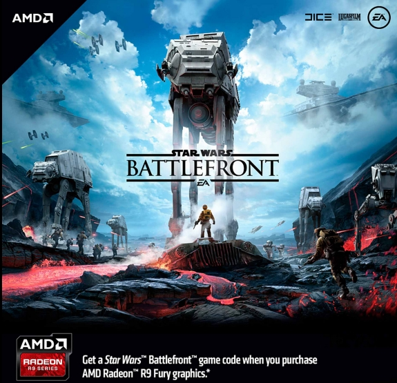 AMD Battlefront promo