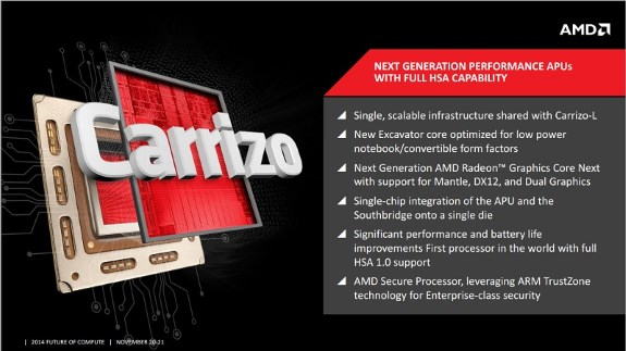 AMD Carrizo slide