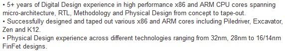 AMD LinkedIn profile