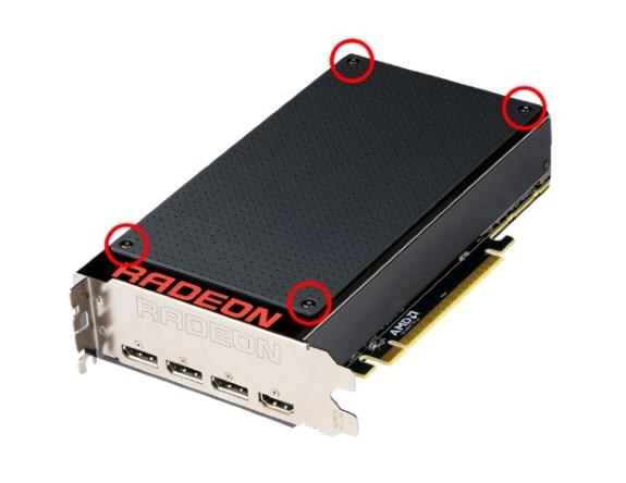 AMD Fury X 3D plates