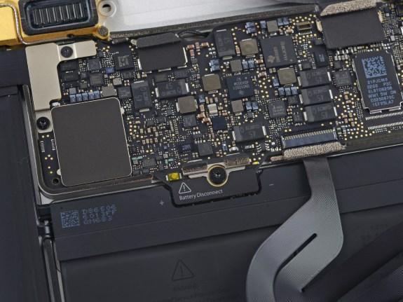 Apple Retina Macbook teardown