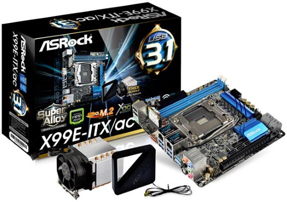ASRock X99 Mini ITX motherboard