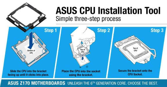 ASUS broken pin Z170 prevention tool