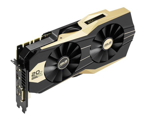 ASUS GeForce GTX 980 20th Anniversary Gold