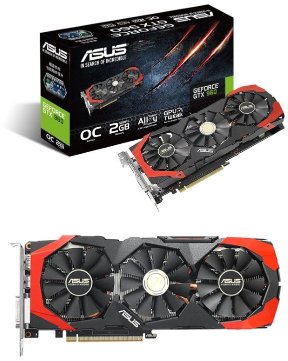 asUS DirectCU III GTX 960