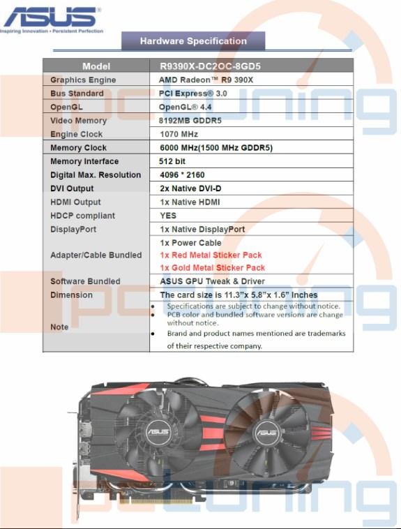 ASUS R9 390X DirectCUII OC