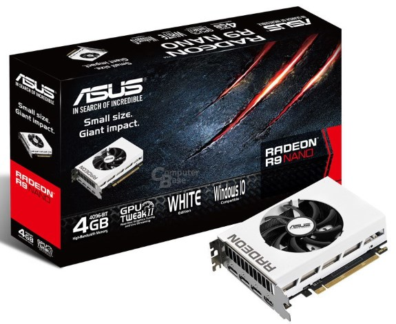 AMD R9 Nano white from ASUS