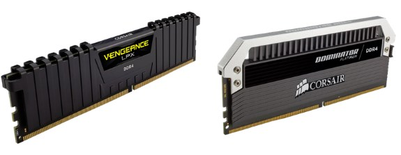 Corsair 128GB DDR4 memory kits