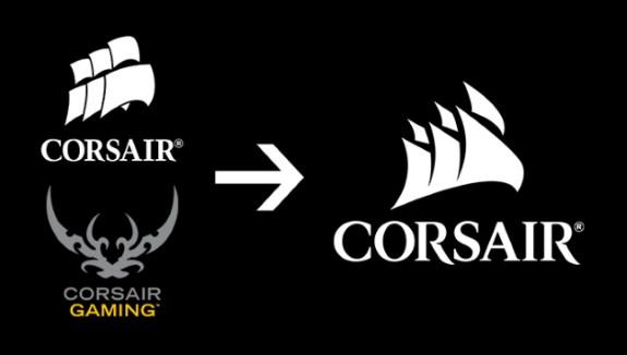 Corsair new logo
